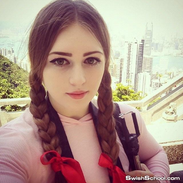 اجمل امرأة روسية تبلغ من العمر 19 عاما بطلة كمال اجسام Julia Vins