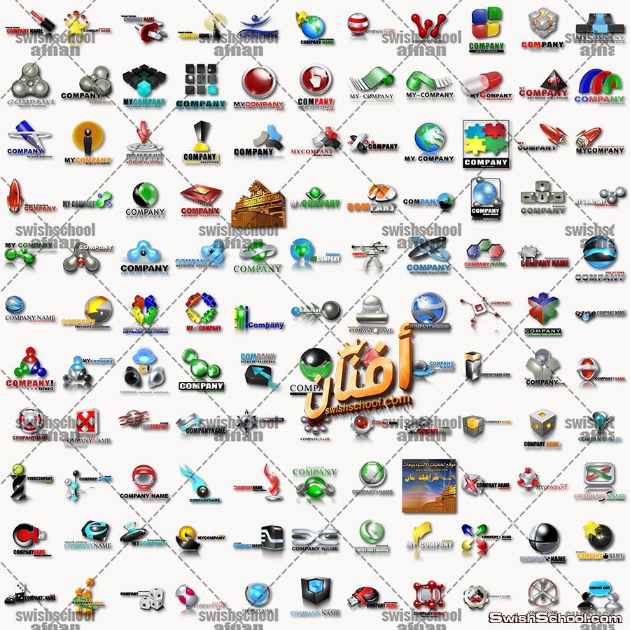 اكبر كولكشن شعارات logo جاهز للتعديل بصيغه psd و اليستريتور