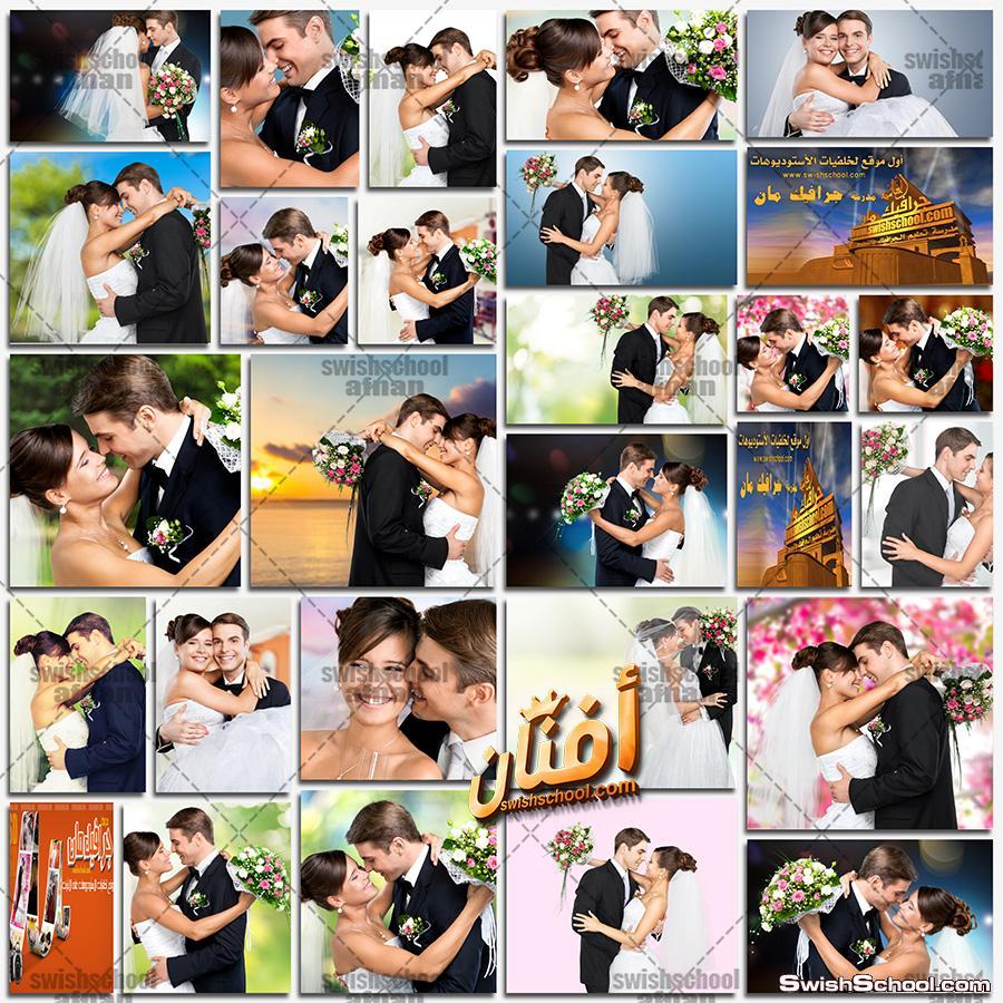 صور عريس وعروسه عاليه الجوده لتصاميم البومات الاستديوهات jpg