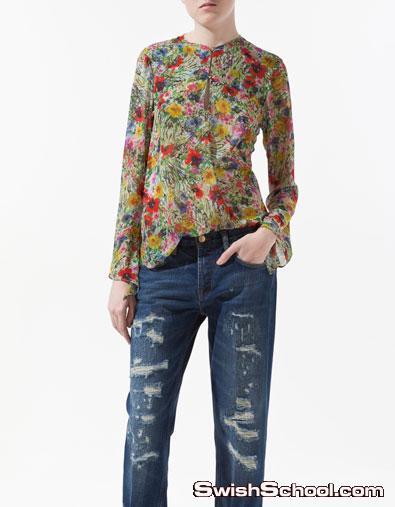 ملابس زارا 2012