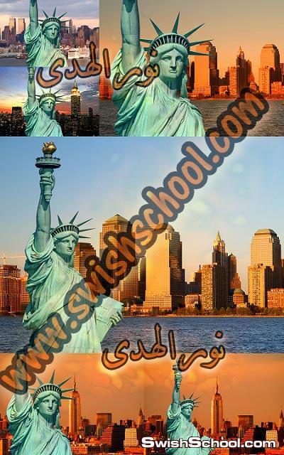 خلفيات تمثال الحريه عاليه الجوده للدذاين 2013