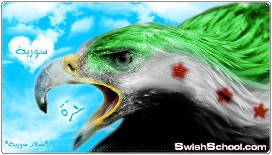 * النسر السوري يحلق في سماء الحرية *