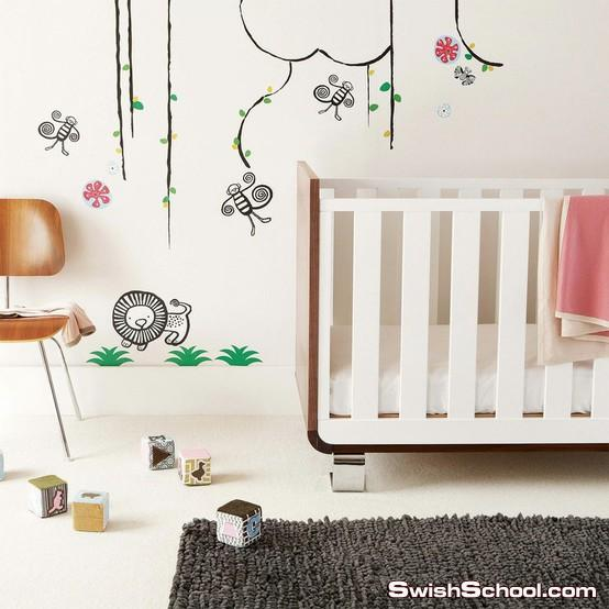 استيكرات غرف اطفال 2012