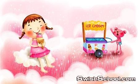 خلفيات احلام الطفوله Childhood Dream