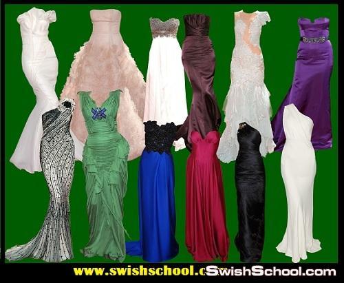 فساتين سهره مفرغه Women Dress PSD