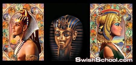 خلفيات مصر الفرعونيه للتصميم
