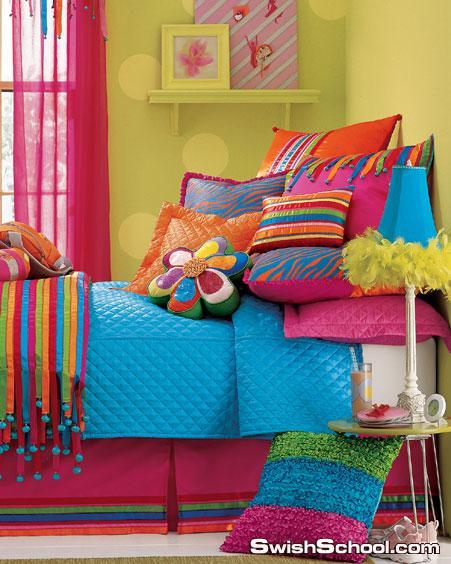 غرف نوم بنات 2012