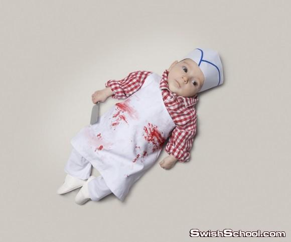 حين أكبر سأكون - صور طريفة لأطفال يرتدون ملابس وظيفتهم في المستقبل