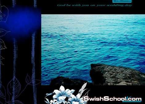 خلفيات بالوان زمرديه , بالوان البحر الازرق الزمردي , خلفيات استوديو , خلفيات 2013