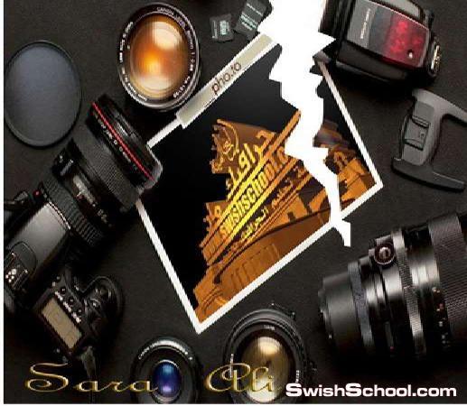 اشكال لعمل اوراق وصور متمزقه , صوره ممزقه , ورقه ممزقه , طريق تمزق الورقه , تمزق الصوره