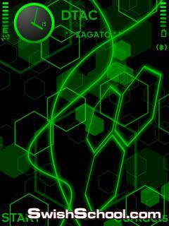 خلفيات  النيون الاخضر Neon Green wallpaper pack by Zagato