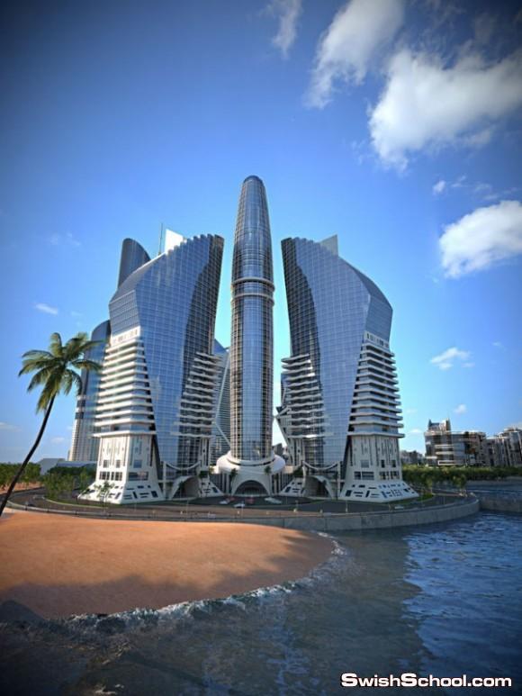 مشروع برج أذربيجان أطول برج في العالم