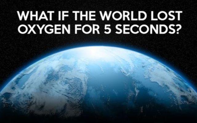 الأوكسجين وفوائده على الأرض
