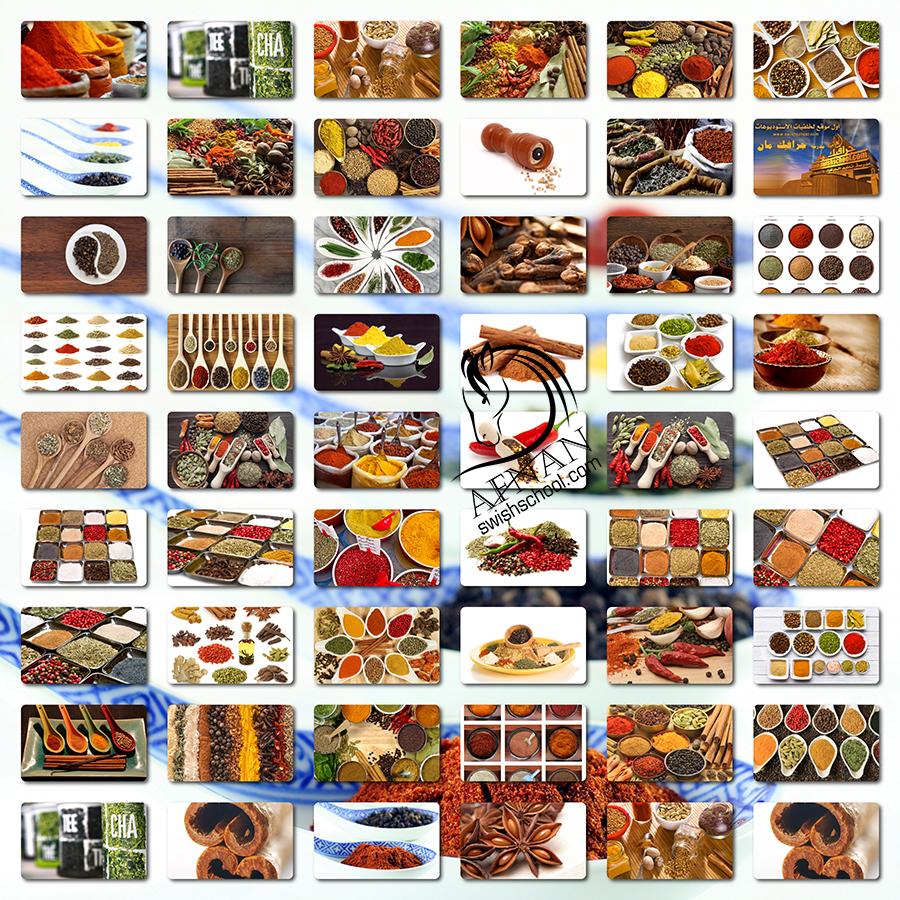 صور توابل وبهارات عاليه الجوده لتصاميم محلات العطاره jpg