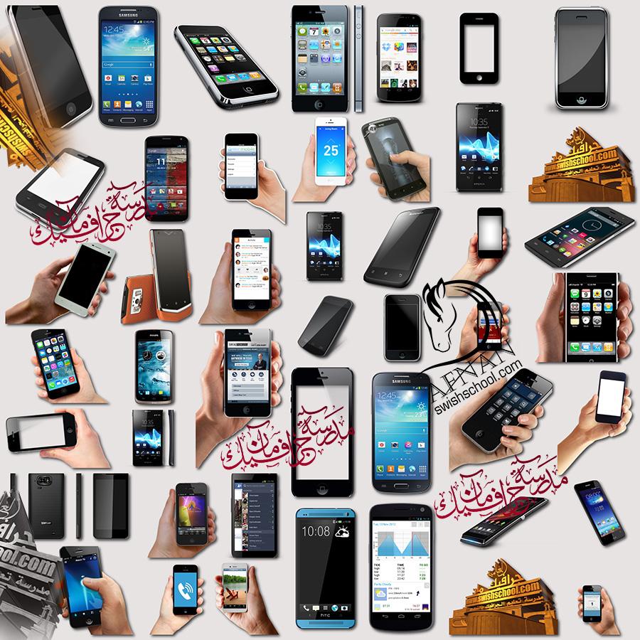 سكرابز هواتف ذكيه بدون خلفيه png