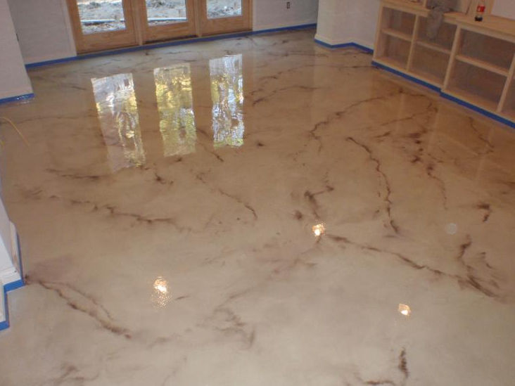 Metallic Epoxy Flooring ارضيات ميتالك ايبوكسي