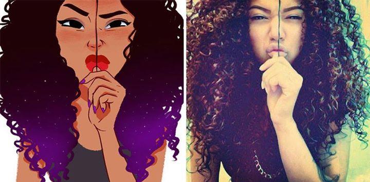 بالصور: رسام برازيلي يقوم بتحويل صور الاشخاص الى كارتون