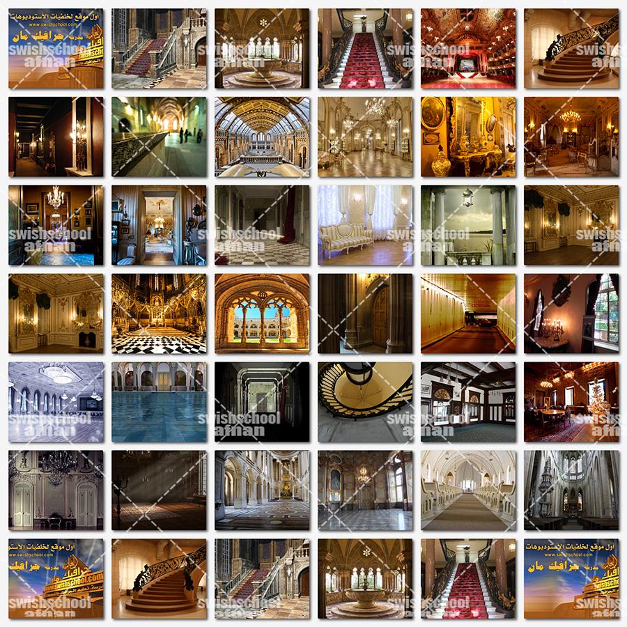 خلفيات القصور - خلفيات الفخامه - خلفيات قاعات ومسارح ومناسبات عاليه الجوده للتصميم والاستديوهات jpg