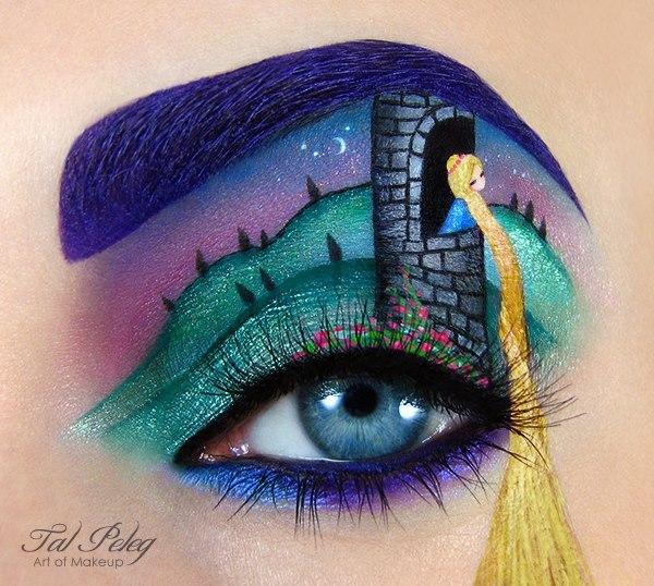 احدث مكياج عيون مستوحى من افلام القصص الخياليه