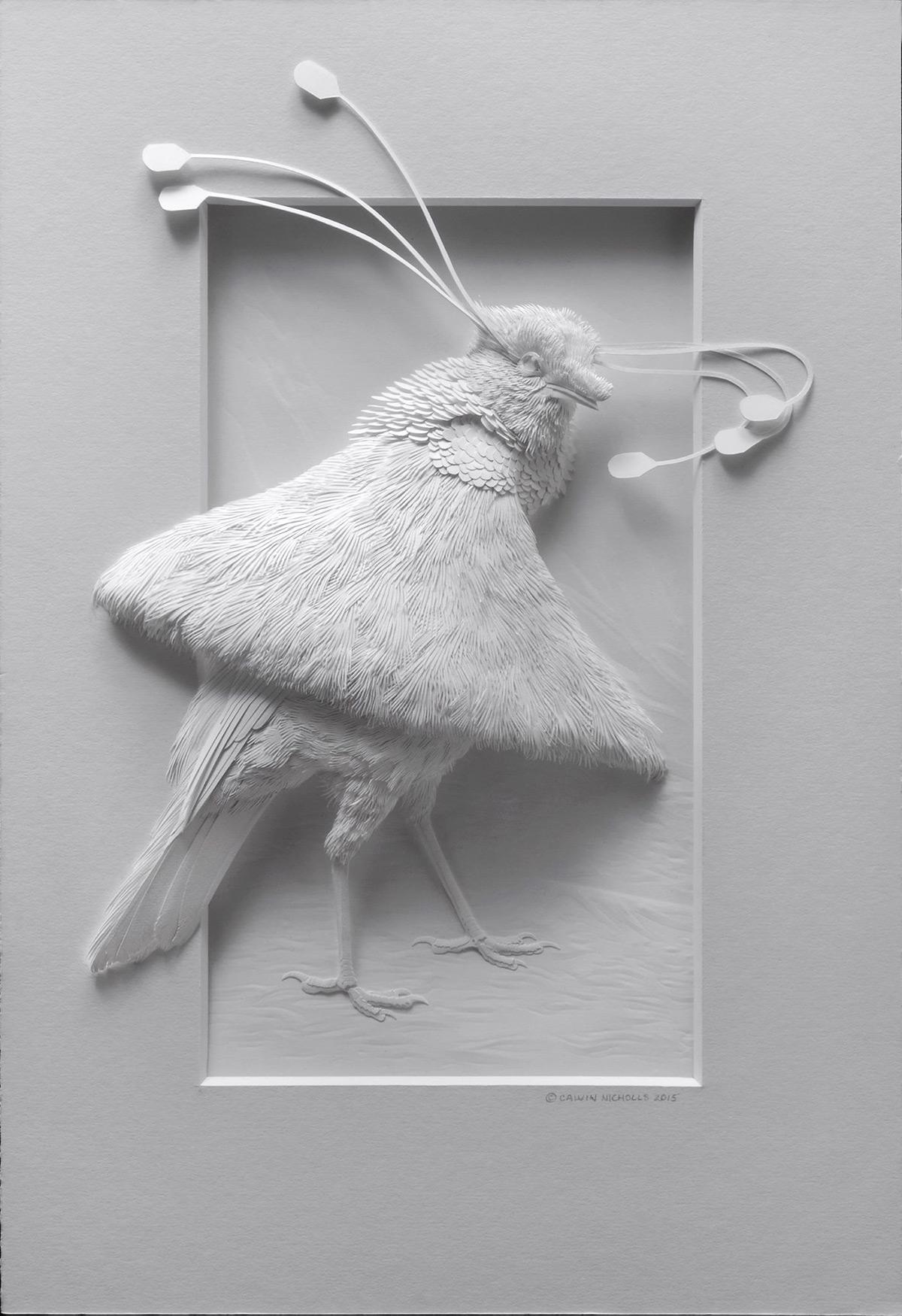 مجسمات مبهرة ثلاثية الأبعاد لحيوانات وطيور مختلفة