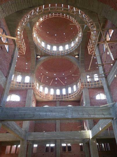 مسجد في شرم الشيخ بتصميم اسلامي نادر