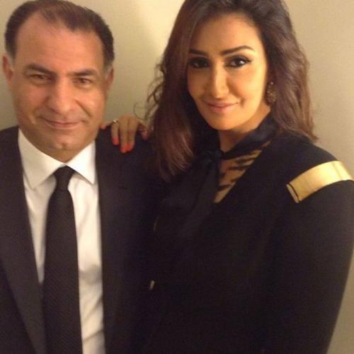 صور غاده عبد الرازق هي وزوجها