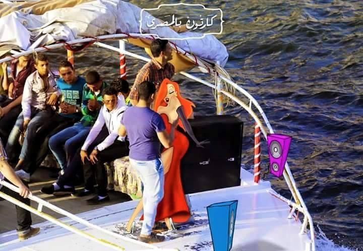 صور شخصيات كارتون ديزني لو عايشين في مصر