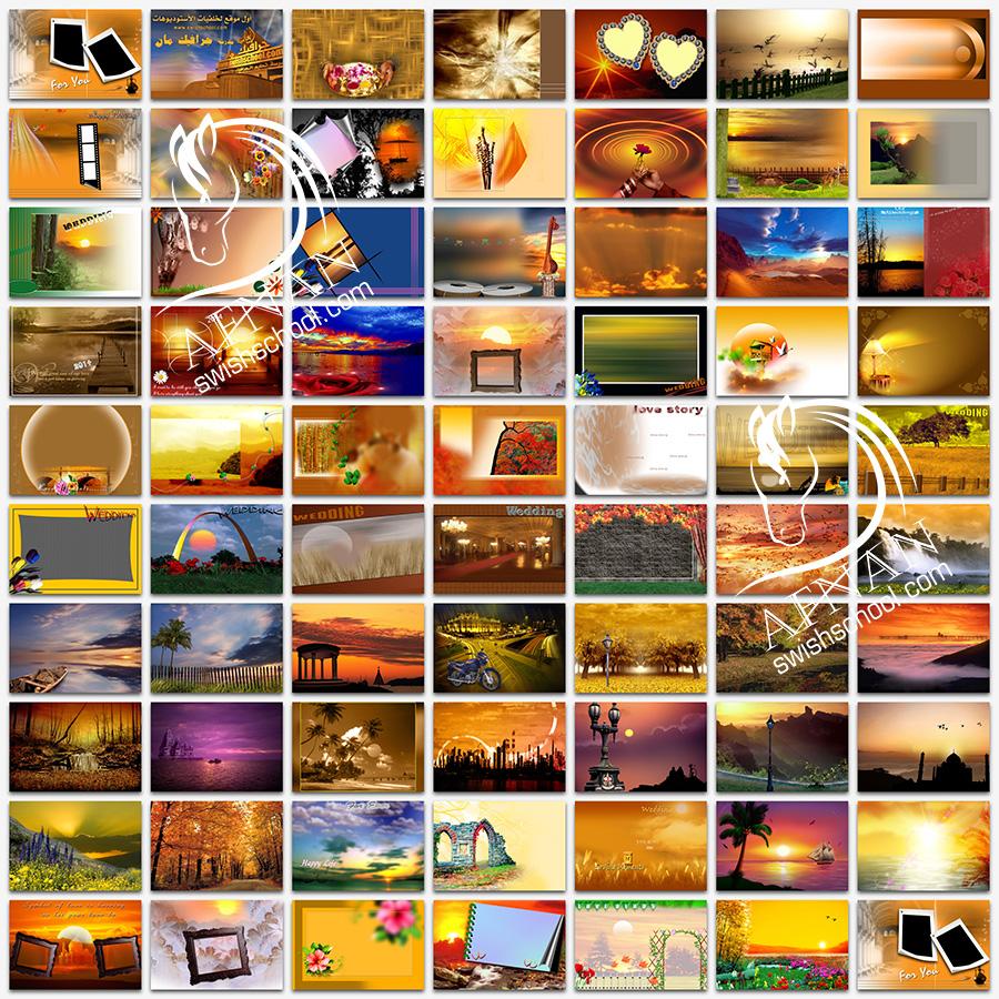 تحميل خلفيات استديو - اجمل البوسترات الرومانسيه والانتريهات لتصاميم الاستديوهات jpg