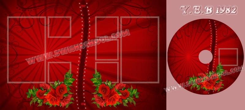 خلفيات فوتوشوب إطارات مع ورود حمراء, خلفيات فوتوشوب ورود حمراء للرومانسية