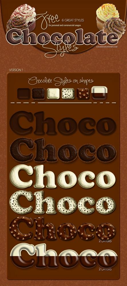 استايلات فوتوشوب شوكولاته, استايلا فوتوشوب حلويات, استايلات فوتوشوب بيتزا, استايلات كيكة, استايلات بسكويت