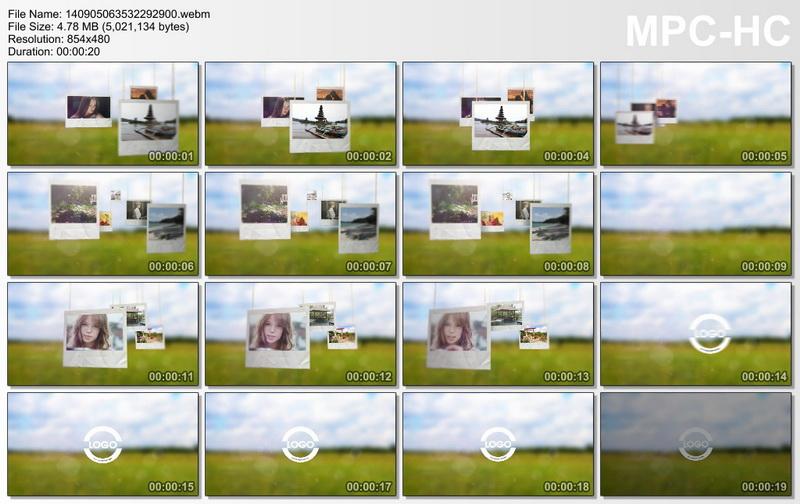 مشروع افتر افيكتس عرض صور, مشروع افتر افيكتس عرض صور بملقط غسيل, مشروع افتر افيكتس عرض صورك على الحبال