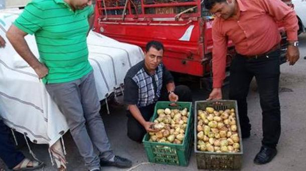 ضبط 23 طن جوافة غير صالحه بمصنع عصائر شهير في الاسماعيليه