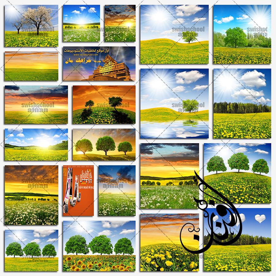 خلفيات طبيعه مناظر الربيع المبهجه عاليه الجوده للفوتوشوب jpg