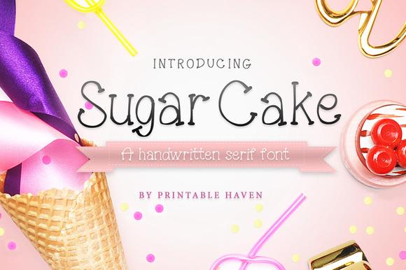 خط السكر, خط الكعكة, خط فوتوشوب بشكل كعكة