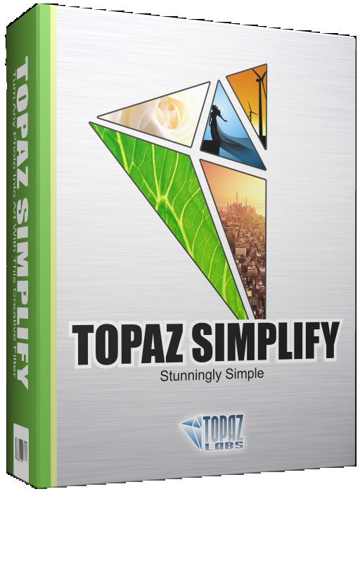 فلتر تحويل صورتك لتحفة فنية, فلتر تحويل صورتك بطريقة مرسومة بقلم الرصاص, فلتر Topaz Simplify 4.2.0