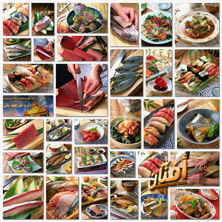 صور اطباق وجبات اسماك لاصحاب المطاعم بجوده عاليه jpg - وجبات بحريه للتصميم
