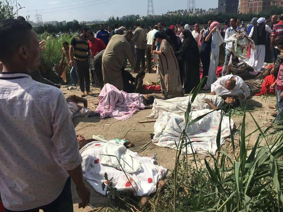 محافظ الاسكندرية يكشف السبب الحقيقي لوقوع حادث تصادم القطارين