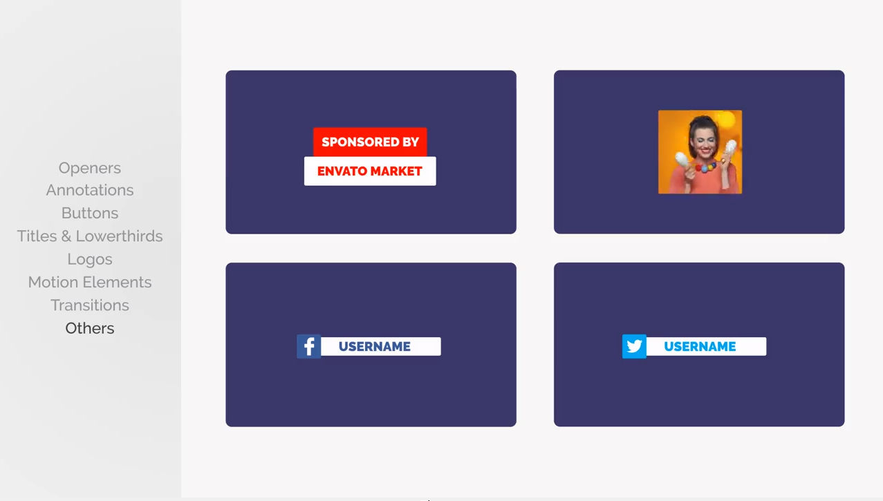 قالب افترافكت مجاني : برومو لأصحاب قنوات اليوتيوب Youtube Promotion Pack 3