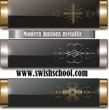 ازرار جاهزه للتصميم باشكال احترافيه  Modern buttons