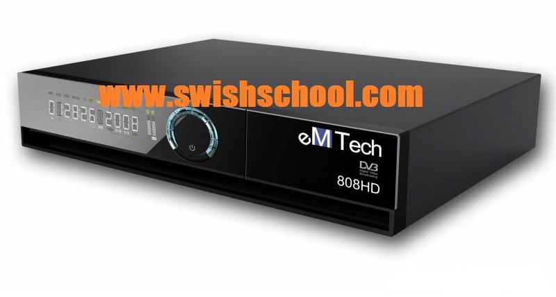 EM tech 808hdالسوفت الاصلى +اللودر