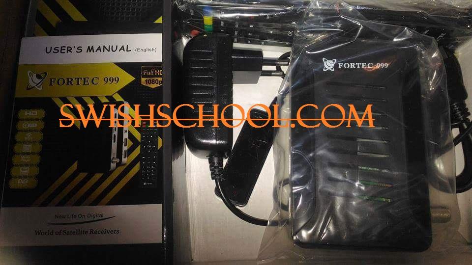 فلاشة FORTEC 999 HD mini الاسمر