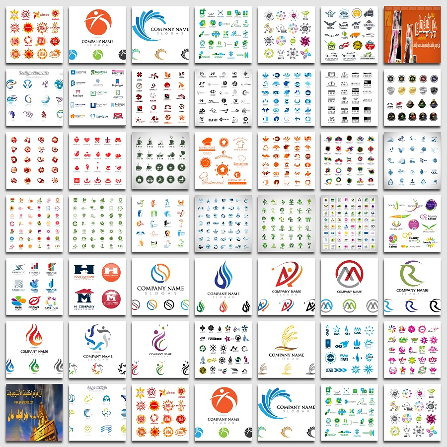 فيكتور جرافيك لوجهات وشعارات لبرنامج اليستريتور eps - الجزء الثالث