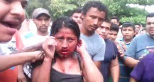 قتل فتاه وحرقها في الشارع