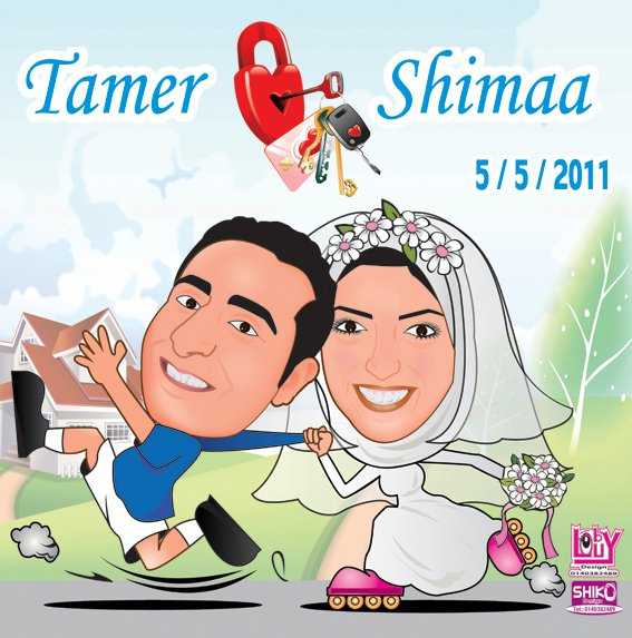 wedding cartoon poster 14 صوره فرح كارتون wedding cartoon poster