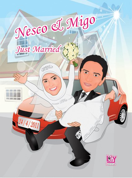 wedding cartoon poster 20 صوره فرح كارتون wedding cartoon poster