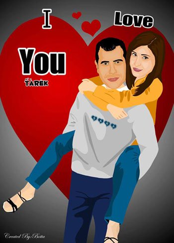 wedding cartoon poster 24 صوره فرح كارتون wedding cartoon poster