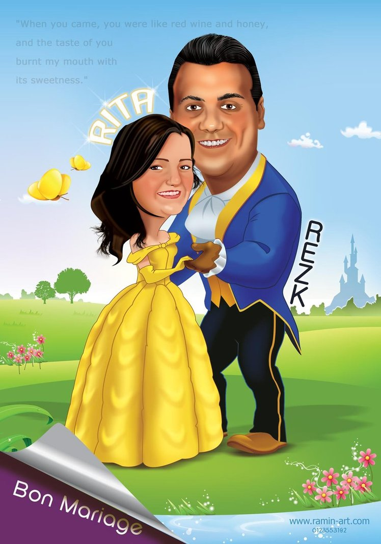 wedding cartoon poster 8 صوره فرح كارتون wedding cartoon poster