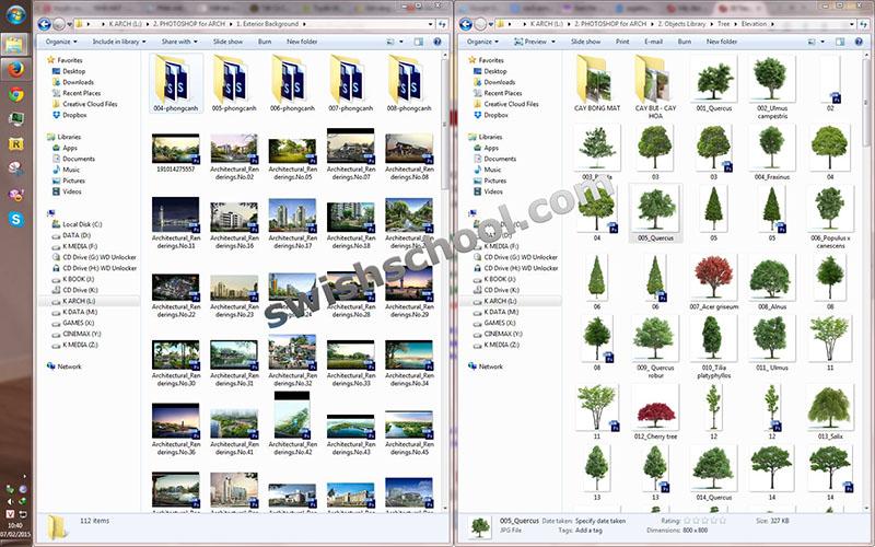 10ءءءء 3 برنامج PSD Codec لعرض مصغرات صور الفوتوشوب والفيكتور