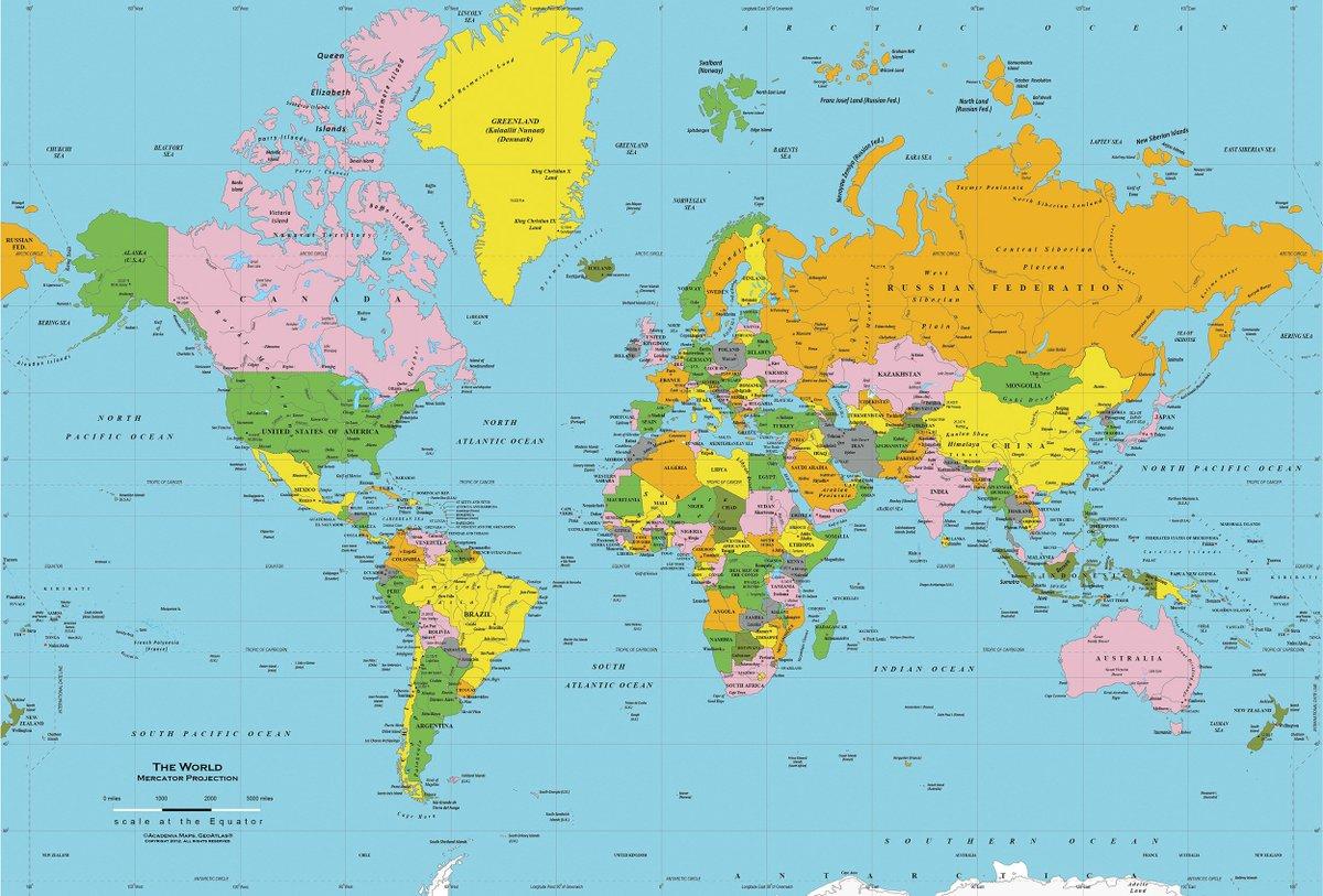 خريطه العالم لماذا سميت القارات باسمائها الحاليه ؟