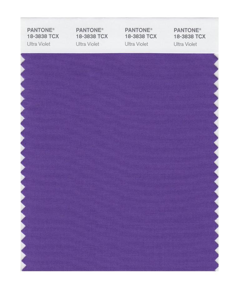 شركة Pantone 2018 7 اللون البنفسجي لون العام بحسب بانتون